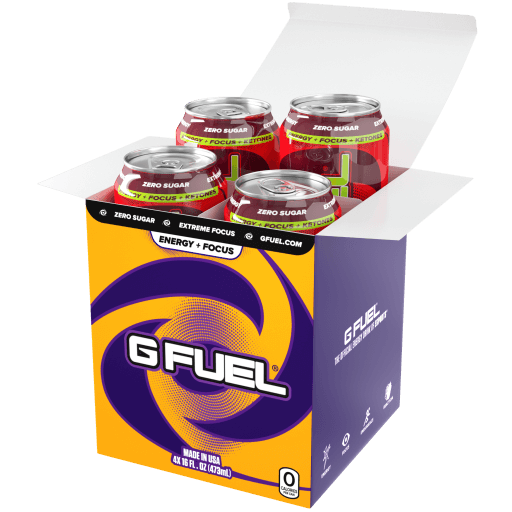 G FUEL| Sour Cherry (Cans 4 Pack) RTD