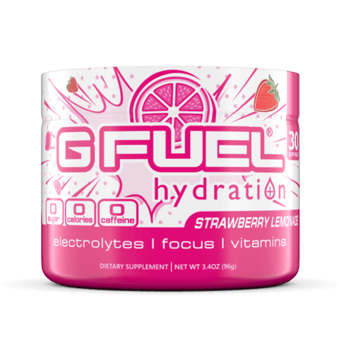 G FUEL Hydration - Strawberry Lemonade Tub (30 servings)
