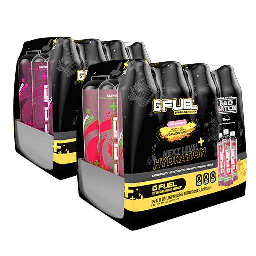 G FUEL| The Bad Batch Bundle (Sparkling Hydration 24 Pack) RTD Hydration