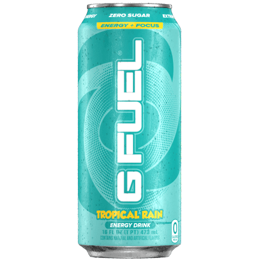 G FUEL| Tropical Rain (Cans 4 Pack) RTD