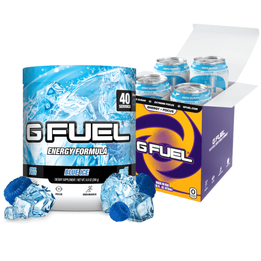 Blue Ice Bundle (Tub + Cans 4 Pack)