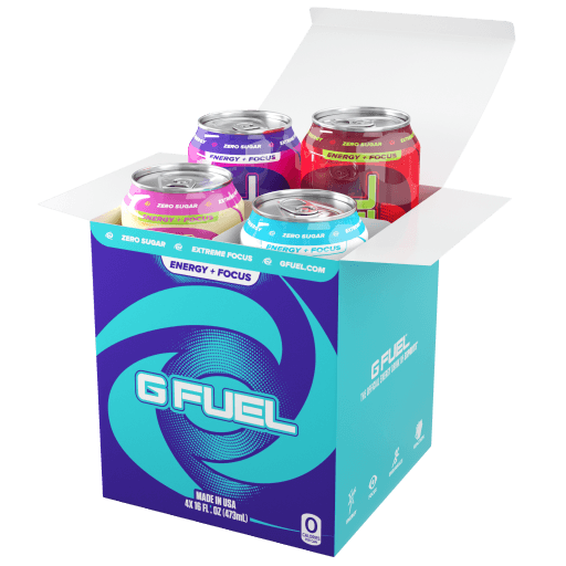 G FUEL| Variety Pack (Cans 4 Pack) RTD