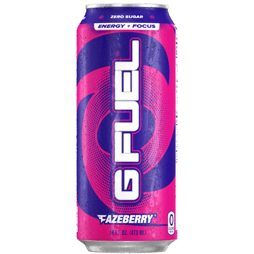 G FUEL| FaZeberry (Cans 4 Pack) RTD