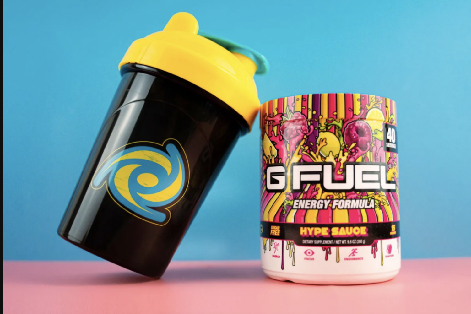 G FUEL Energy Formula Tub and Shaker Bundles