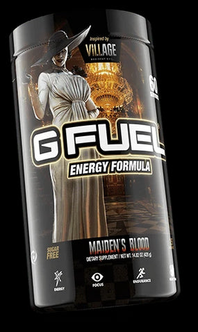 G FUEL Energy Formula Maiden's Blood 60 Serving Tub Eviscerated Melon (Lychee, Watermelon, Pear)