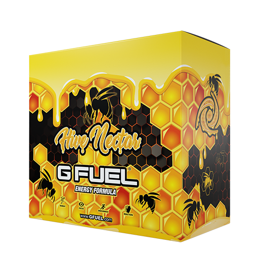 G FUEL Energy Formula Hive Nectar Collector's Box