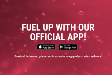 Download the G FUEL App on IOS and Google Play Store