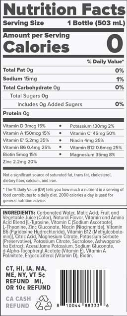 Black Cherry Nutrition Facts