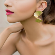 Load image into Gallery viewer, Twisted Earrings-Gold