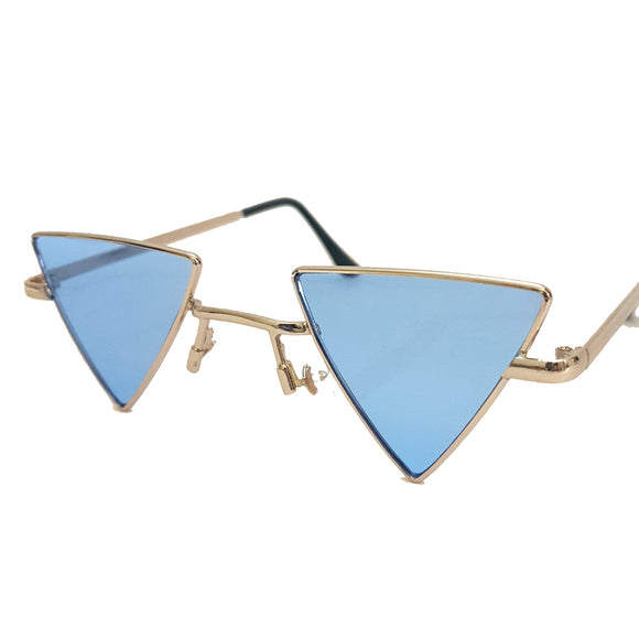 Love Triangle Sunglasses - Blue