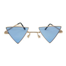 Load image into Gallery viewer, Love Triangle Sunglasses - Blue