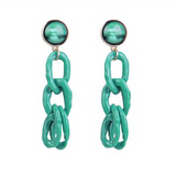 Chain Reaction Drop Earrings