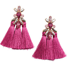 Load image into Gallery viewer, Singing Bling Earrings - Pink