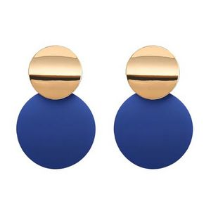 Color Pop Earrings - Blue