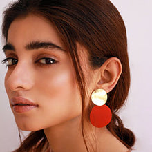 Load image into Gallery viewer, Color Pop Earrings - Red