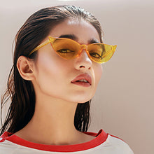 Load image into Gallery viewer, Kitty On Fleek Cat Eye Sunglasses - Yellow