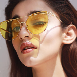 Babe Vision Sunglasses - Yellow