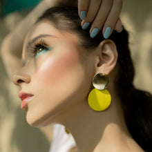 Load image into Gallery viewer, Color Pop Earrings - Yellow