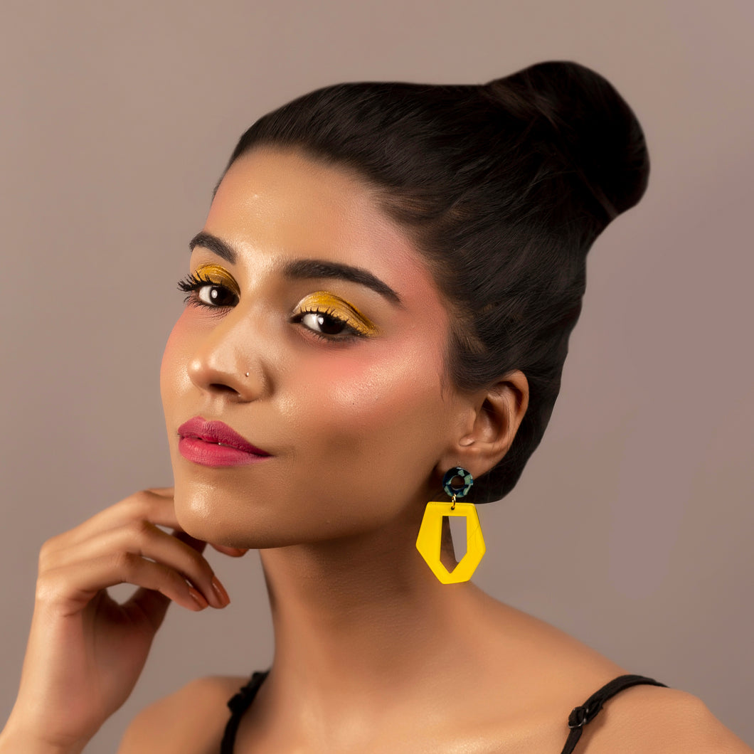 Irregular Sunshine Drop Earrings