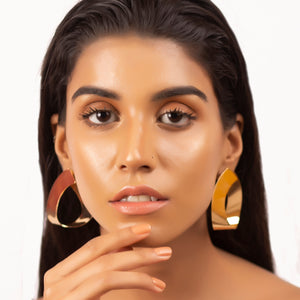 Vintage Glam Earrings - Gold
