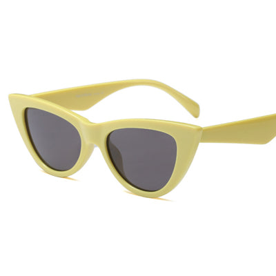 70's Babe Sunglasses-Yellow