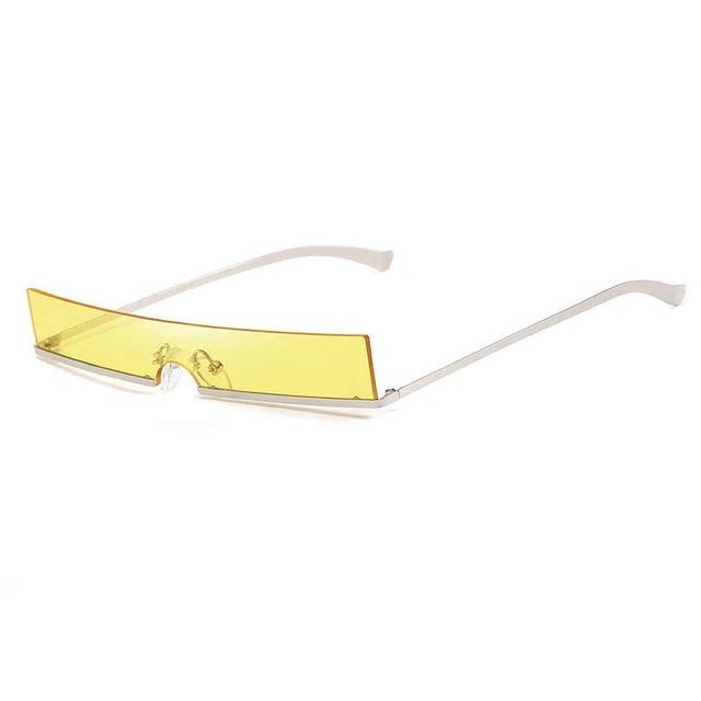 Sass in all shapes Sunglasses-Yellow