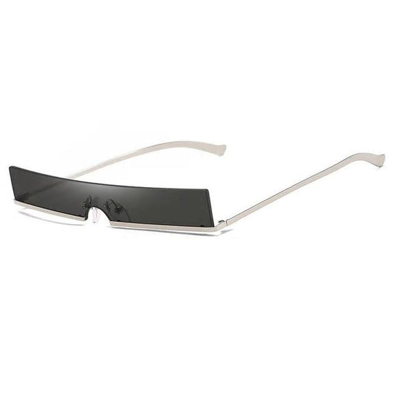 Sass in all shapes Sunglasses-Black