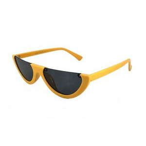 On Fleek Cat Eye Sunglasses-Yellow