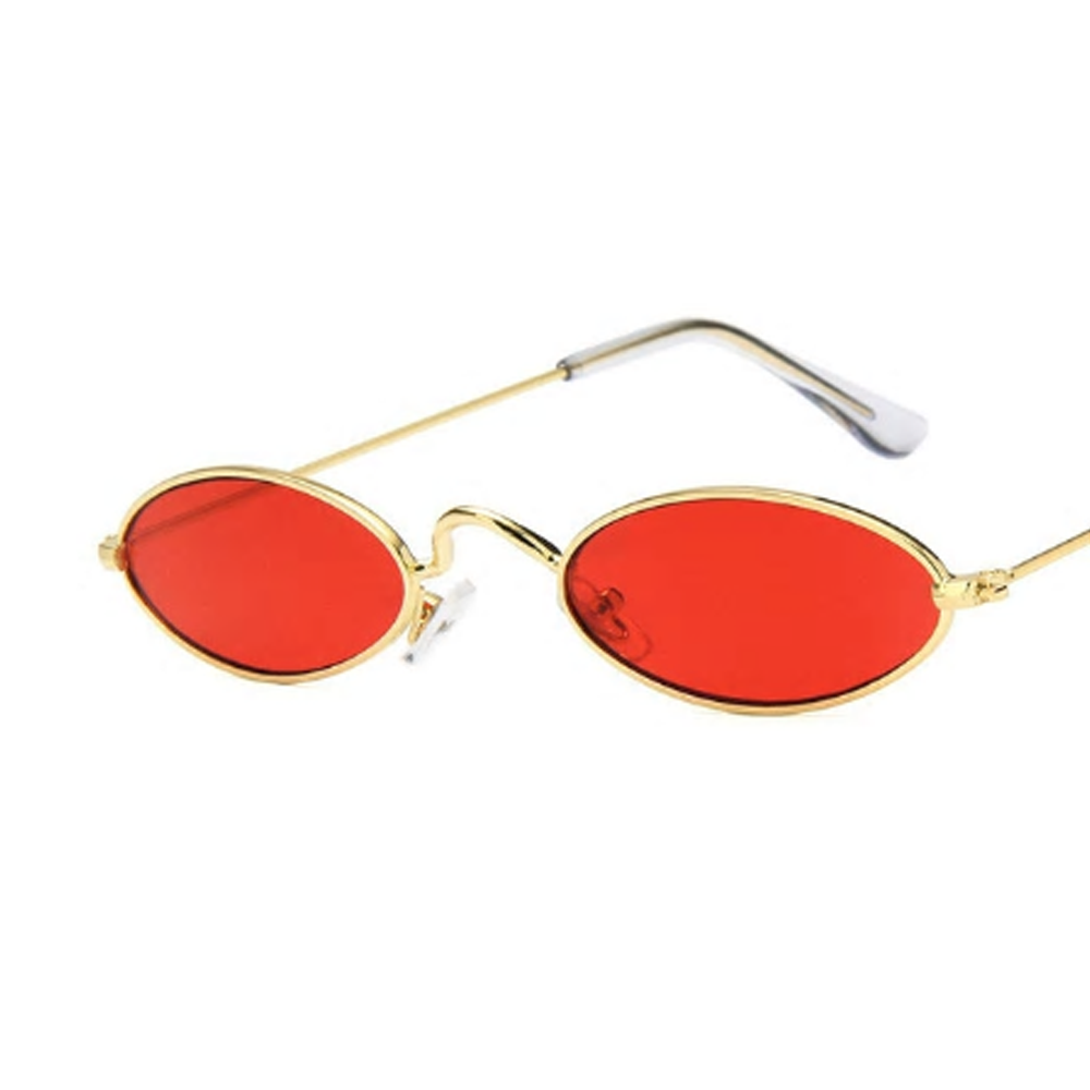 Ready Set Sass Sunglasses - Red