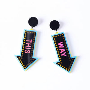 This Way Earrings