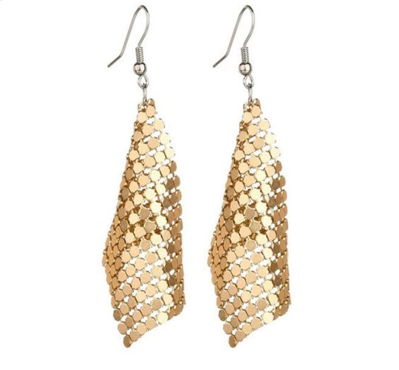 Luxe Drip Earrings - Gold