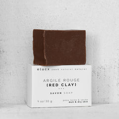 {RED CLAY} Soap *Dull / Tired / Dry Skin| Savon {ARGILE ROUGE} *Peau Sans Eclat / Sèche