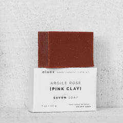 {PINK CLAY} Soap *All skin types|Savon {ARGILE ROSE} *Tous types de peau