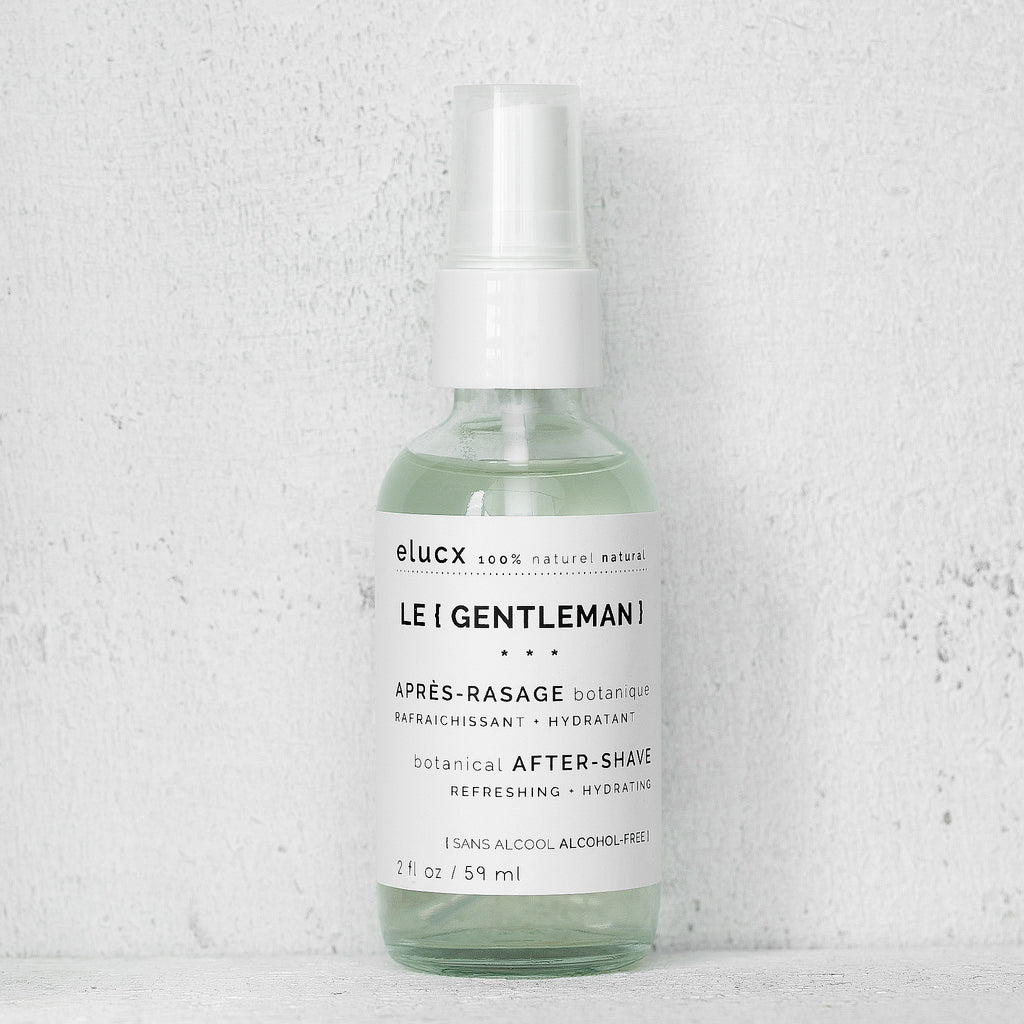 Le {GENTLEMAN} BOTANICAL {AFTER-SHAVE}™|Le {GENTLEMAN} APRES-RASAGE BOTANIQUE™