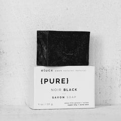 {PURE} Black Soap for oily skin|{PURE} Savon Noir pour peau grasse