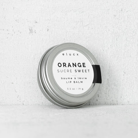 Lip Balm // Sweet Orange| Baume à Lèvre // Orange Sucré