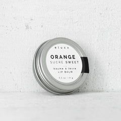 Lip Balm // Sweet Orange| Baume à Lèvres // Orange Sucré