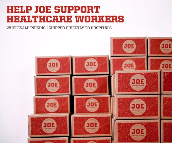 Cases of Joe for Healthcare Workers