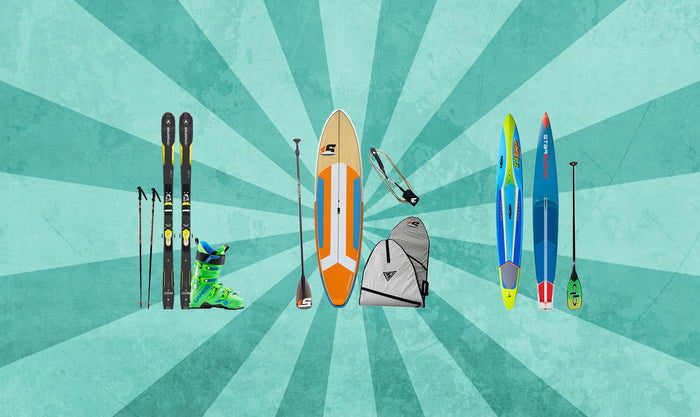 5th Annual Benefit Fundraiser Ski and Paddleboard Sale