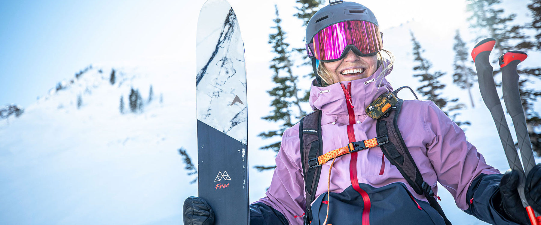 Dynastar skis may cause excessive smiling
