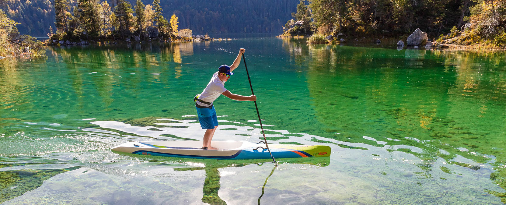 The Official East Coast NSP Performance Stand Up Paddle Board Test Center