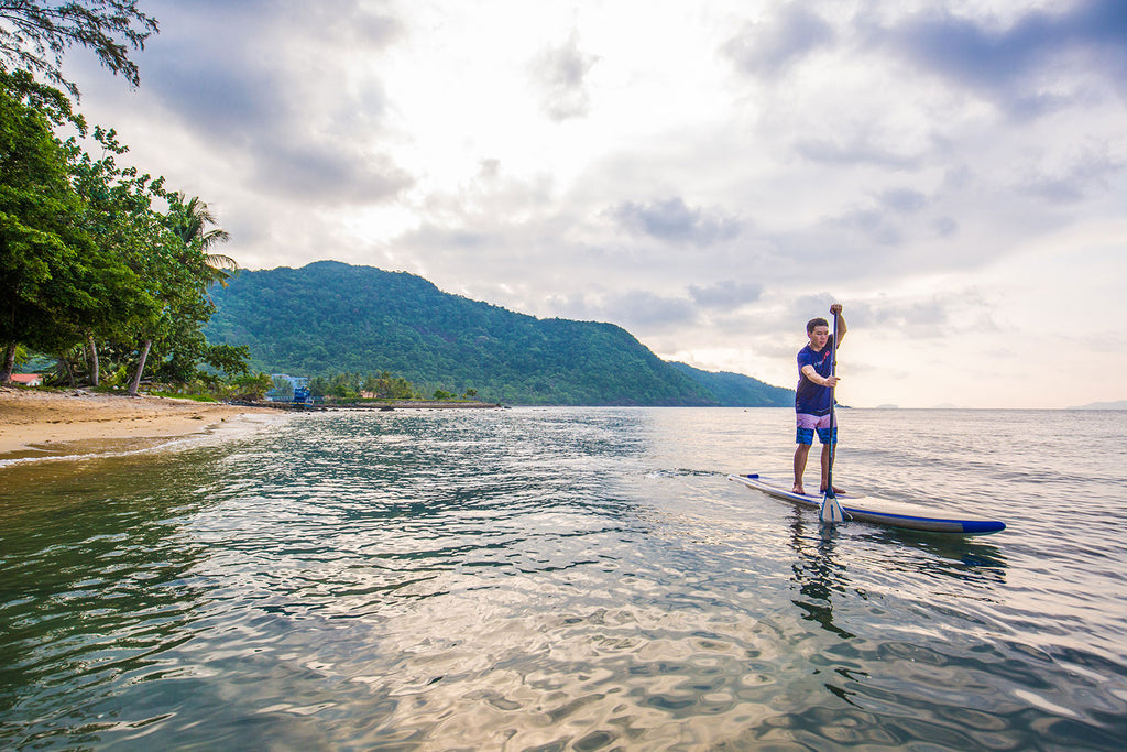 paddleboarding in cambodia