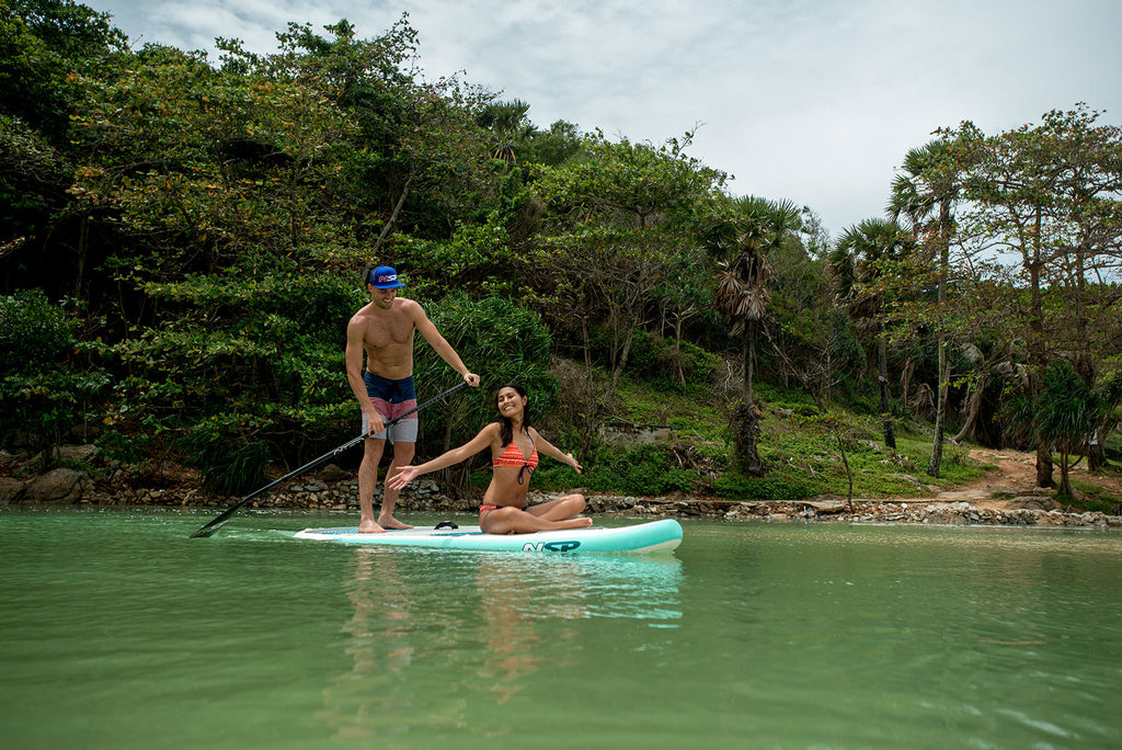 paddle boarding in cool destinations