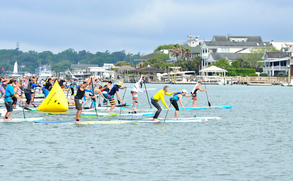 Mid race at the Carolina sup cup photo by @glantzphotography