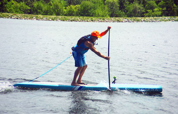 jonathan bischof stand up paddleboard coach