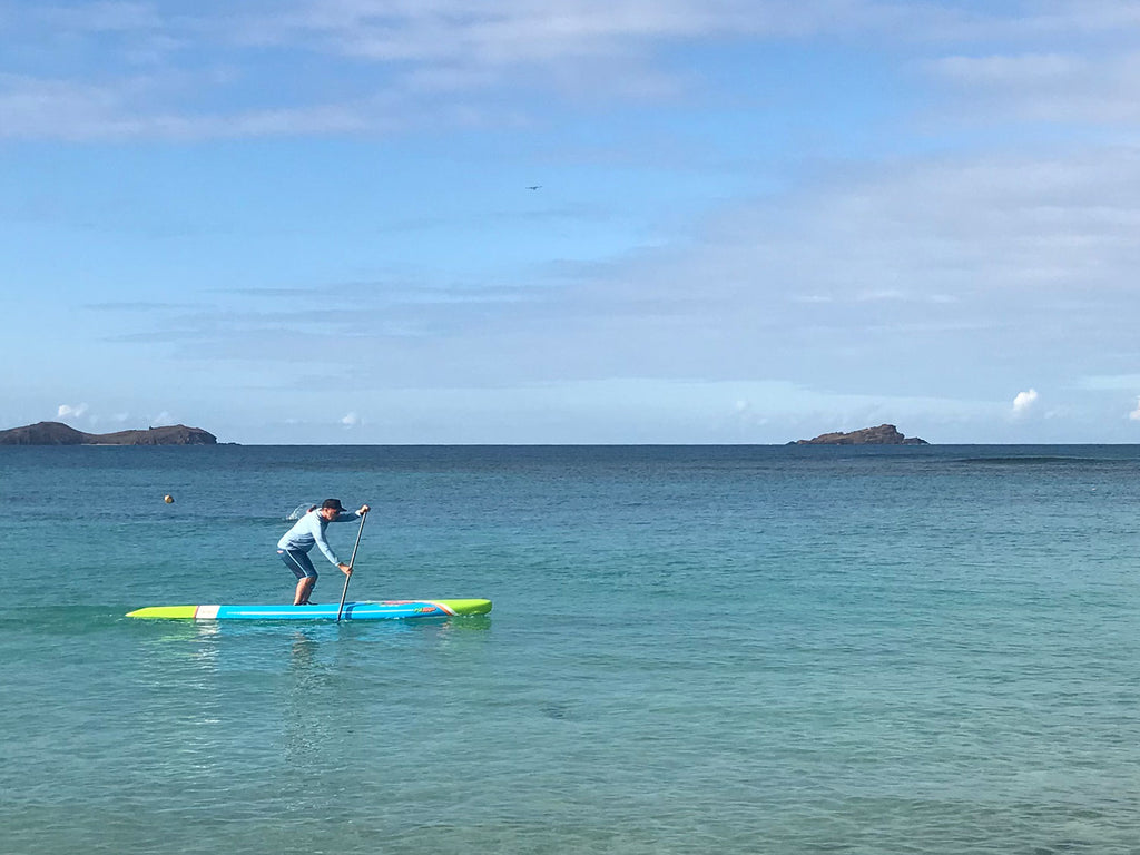 jonathan bischof paddling in st barthes 1