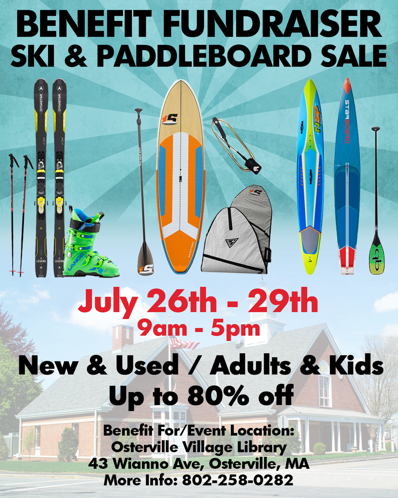 osterville ski and paddleboard sale benefit fundraiser