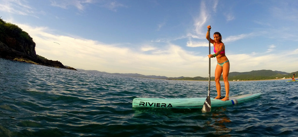 Riviera paddlesurf athlete Shelby Taylor