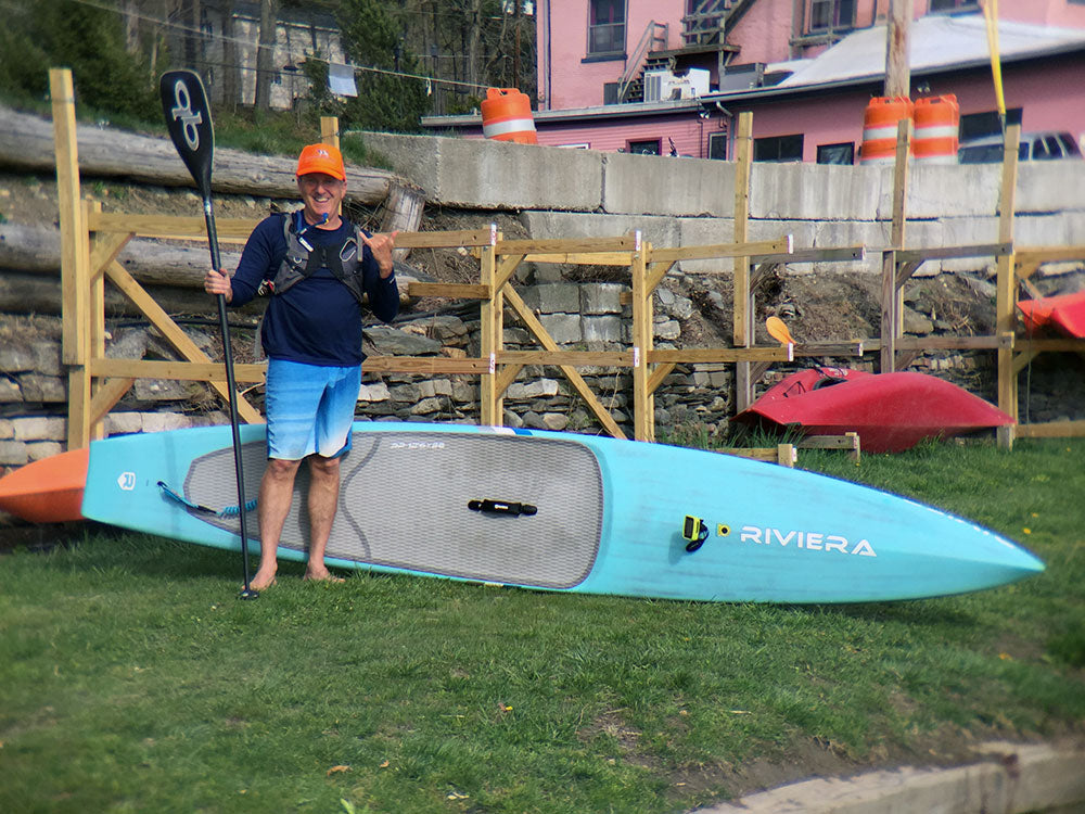 jonathan bischof vermont ski and sport sup racing coach