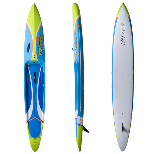 NSP Carolina Pro Carbon 14' Race Stand Up Paddleboard 2019